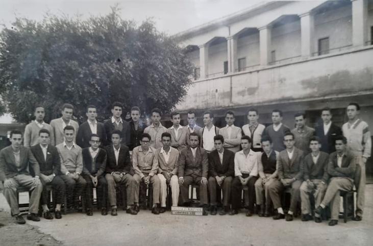 Turma do 3º ano científico - 1958